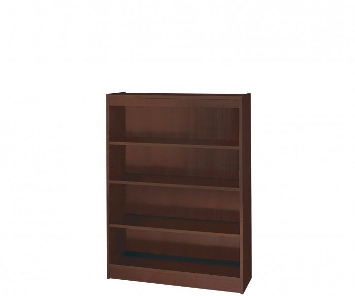 """36""""w x 72""""h Mahogany Bookcase BKC004992"""