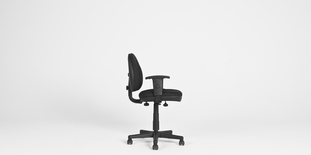 Black Fabric Task Chair CHR001048