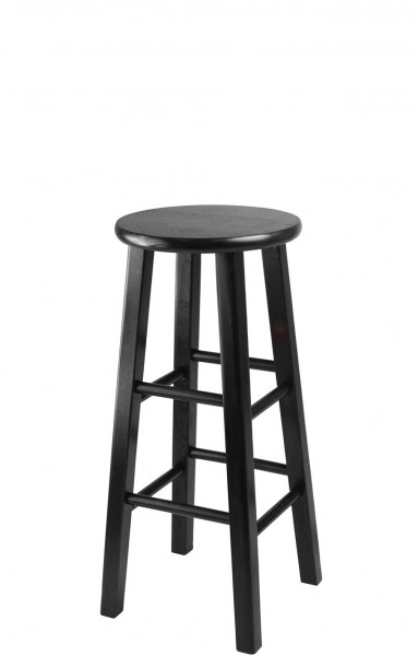 Black Wooden Stool CHR005407
