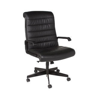 Black Leather Executive High-Back Chair CHR006184