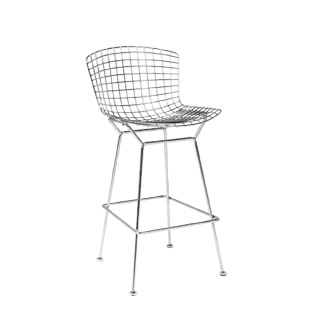 Polished Chrome Bertoia Bar Stool CHR006342