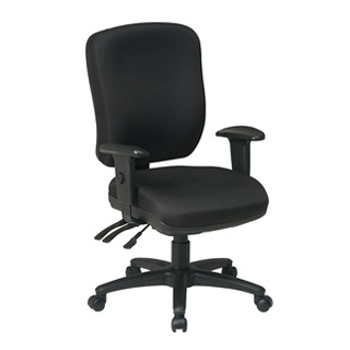 Black Fabric Task Chair CHR006689