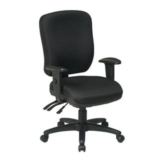 Black Fabric Task Chair CHR006689