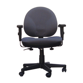 Pewter Grey Fabric Task Chair CHR007351