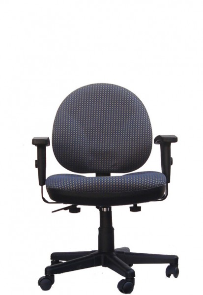 Pewter Grey Fabric Task Chair CHR007351
