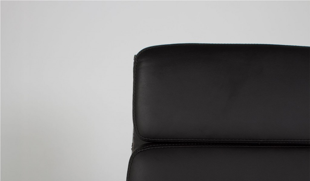 Black Leather Executive Hi-Back Chair CHR008881