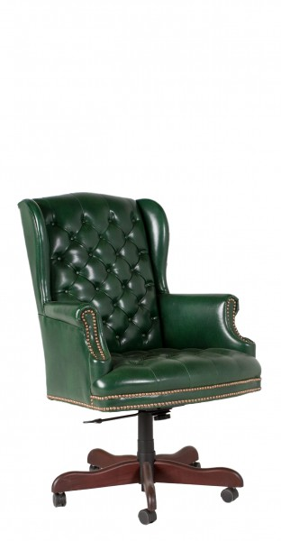 Green Vinyl Executive High-Back Chair CHR011262