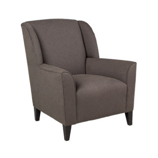 Dark Grey Wing Back Club Chair CHR011654