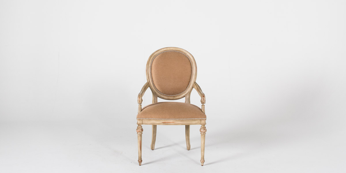 Louis Birch Wood Guest Chair CHR012018
