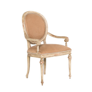 Louis Birch Wood Guest Chair CHR012018