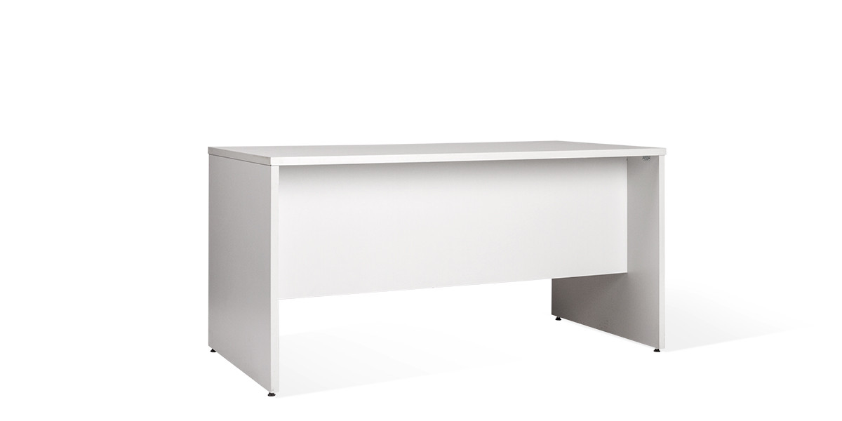 "60""w x 30""d Grey Laminate Desk DSK007368"