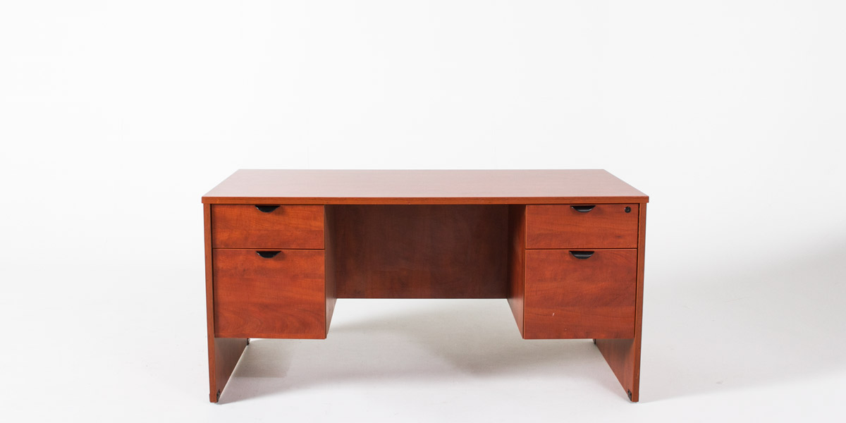 60''w x 30''d Medium Cherry Desk DSK010695