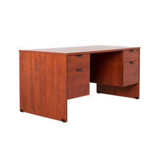 60''w x 30''d Medium Cherry Desk DSK010695
