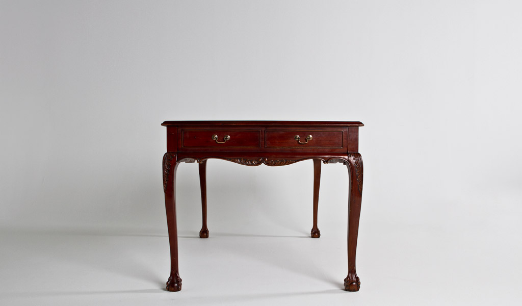"60""w x 36""d Traditional Mahogany Table Desk DSK012207"