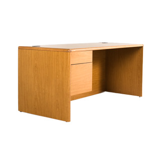 "66""w x 30""d Medium Oak Desk DSK012434"