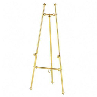 "59""h Brass Easel MIS002083"