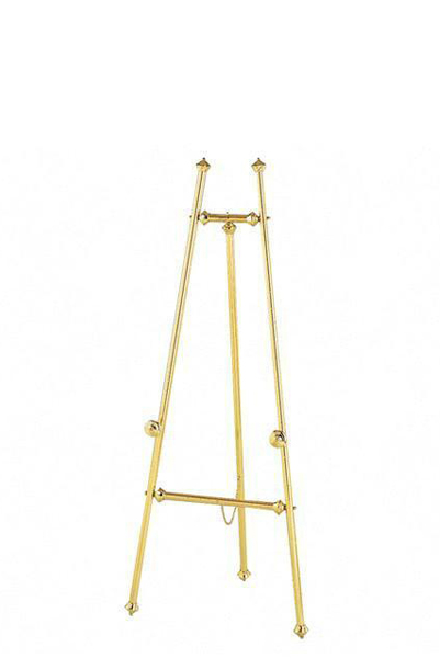 """59""""h Brass Easel MIS002083"""