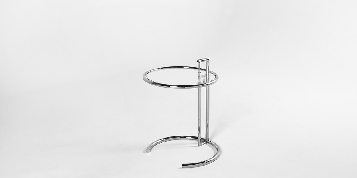 20″dia Eileen Gray Round Side Table TBL001706