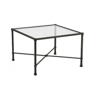 18''w x 18''d Bronze Side Table TBL003842