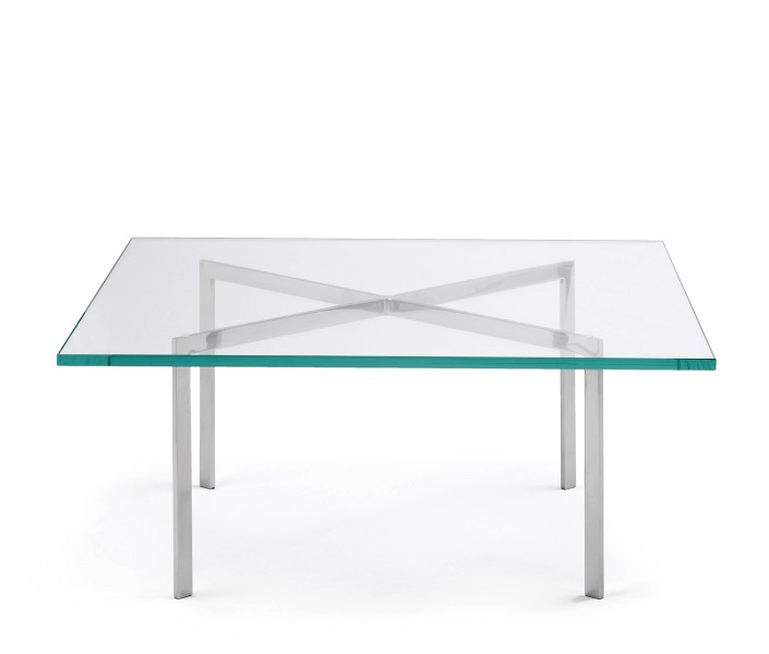 "42""w x 42""d Glass Coffee Table TBL007291"