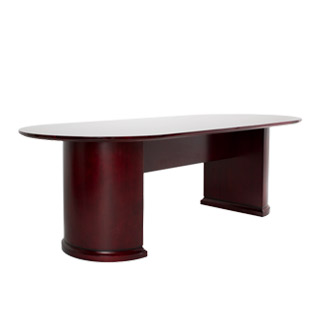 "96""w x 42""d Mahogany Conference Table TBL010310"