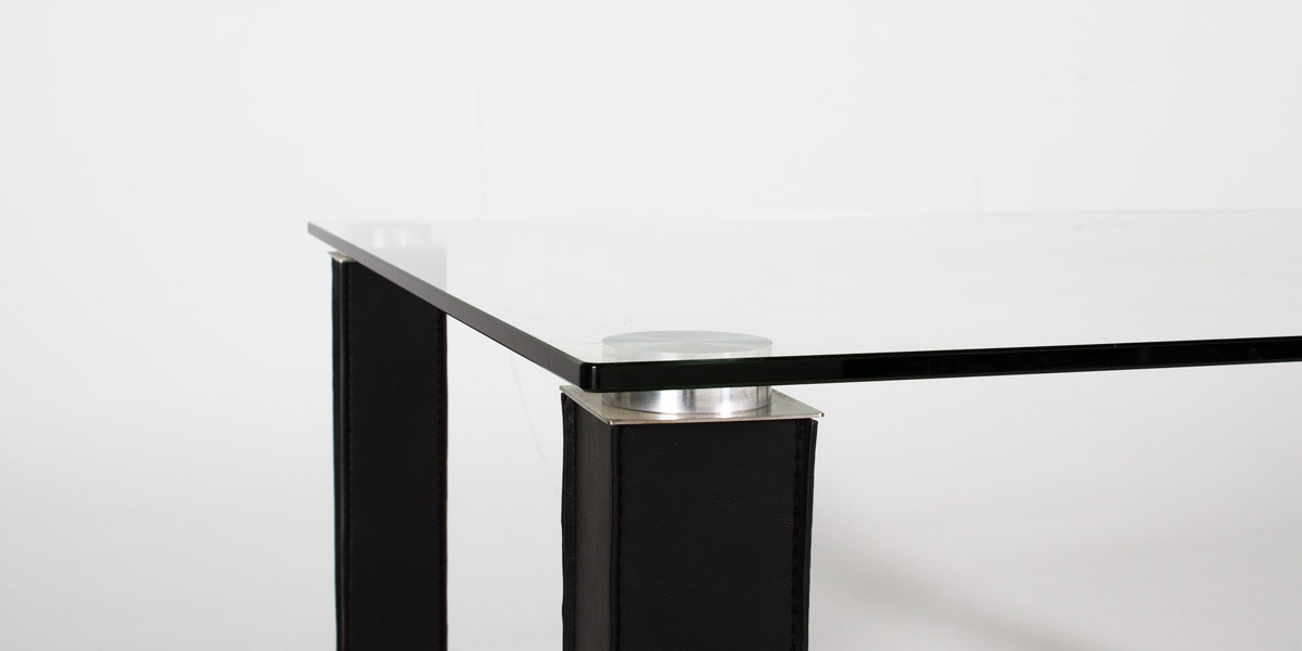"59""w x 35.5""d Glass Dining Table TBL011679"