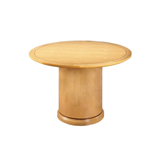 48″dia Maple Round Conference Table TBR008561