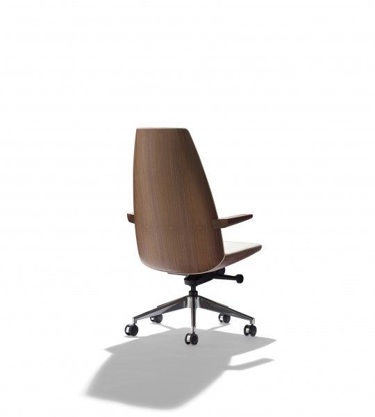 Clamshell Conference Chair