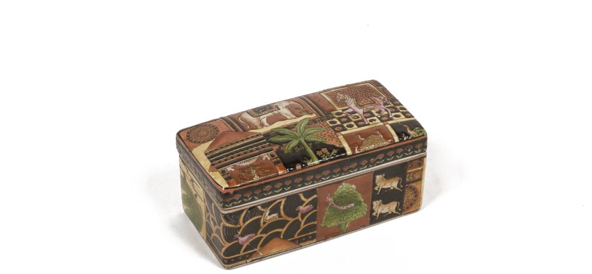 """4""""h Ceramic Box ACC000301"""