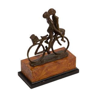"""10""""h Bronze Statue ACC000459"""