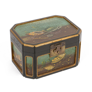 "7.5""h Wooden Box ACC000625"