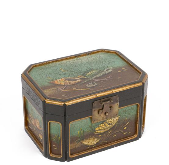 "7.5""h Wooden Box ACC000625"