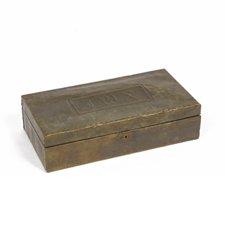 "4""h Brass Box ACC001023"