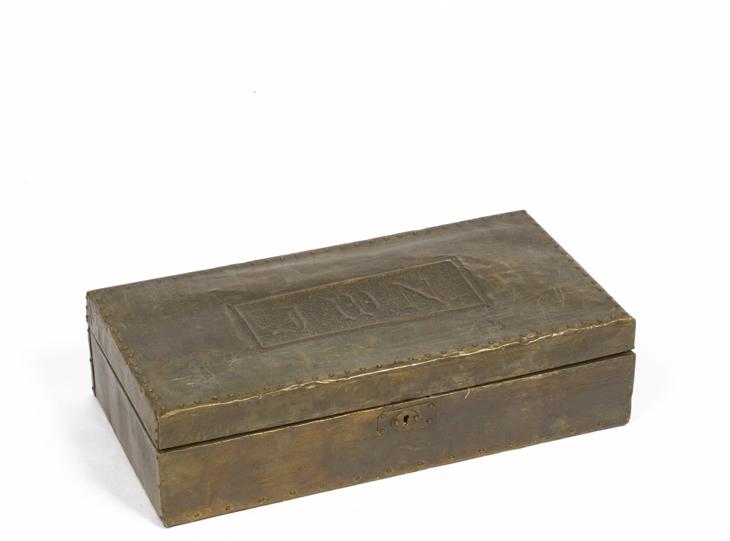 "4""h Brass Box ACC001023"