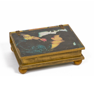 "4""h Wooden Box ACC001024"