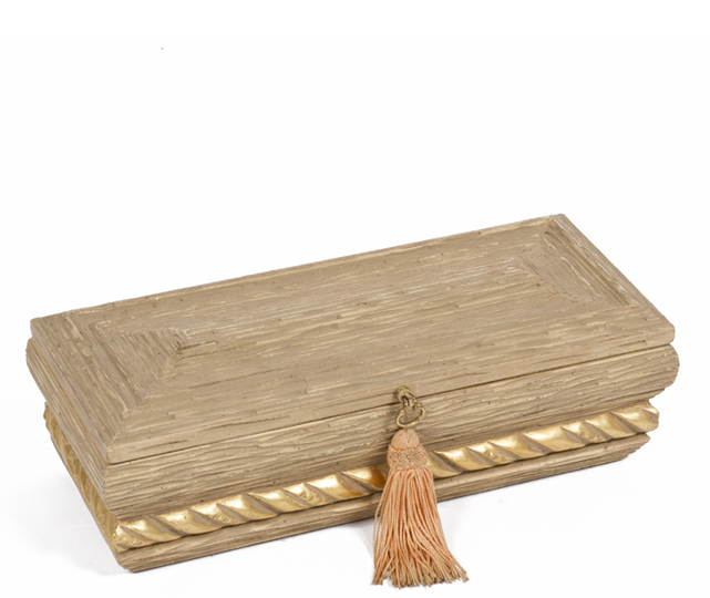 "4.5""h Wooden Box ACC001398"