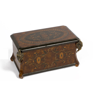 "8""h Ornate Decorative Box ACC003206"