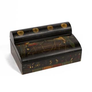 "7""h Wooden Box ACC004458"