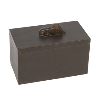 "6""h Bronze Box ACC004463"