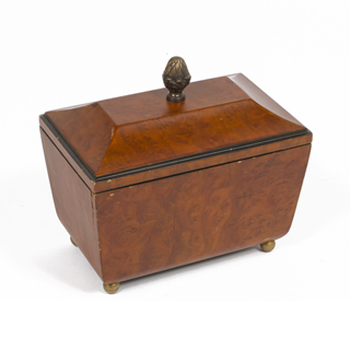 "8.5""h Bronze Box ACC007747"
