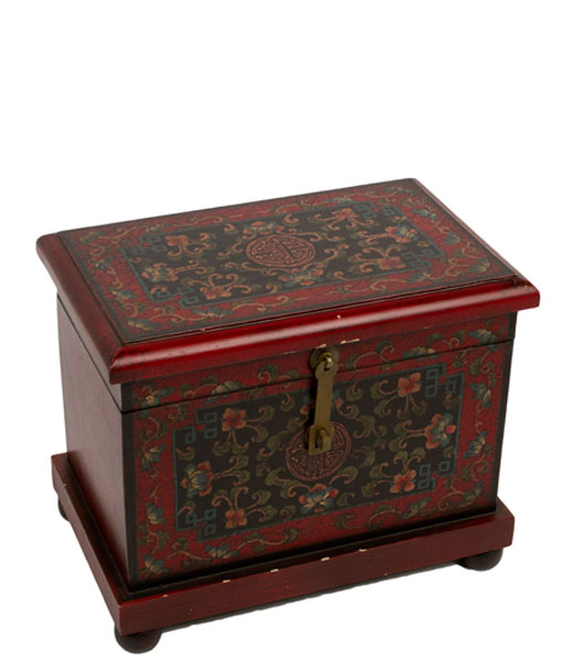 "11""h Hand Painted Chest ACC008848"
