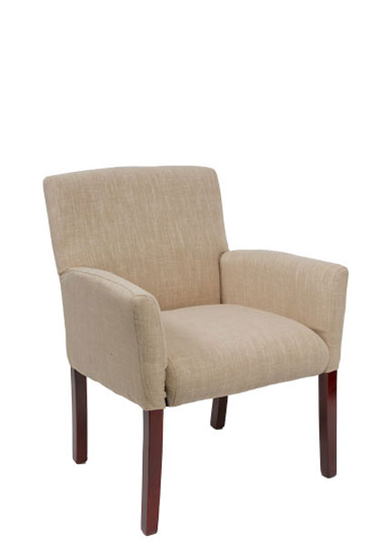 Linen Fabric Guest Chair CHR012814