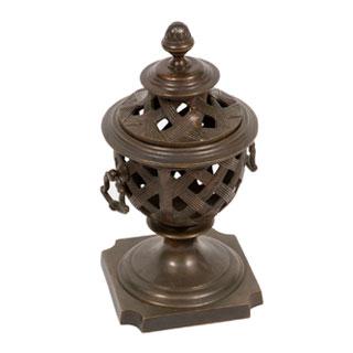 "15""h Bronze Urn ACC000633"