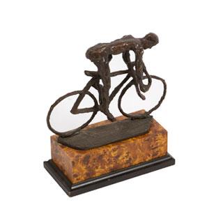 """10""""h Bronze Statue ACC000687"""