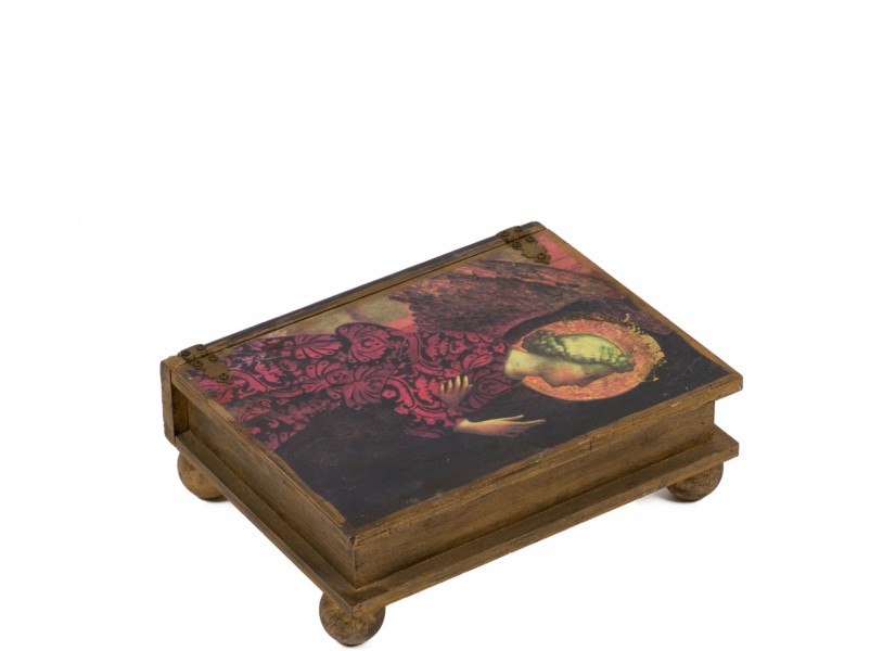 "3.5""h Decorative Box ACC000695"