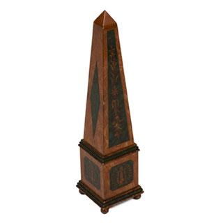 """19""""h Wood Obelisk ACC001207"""