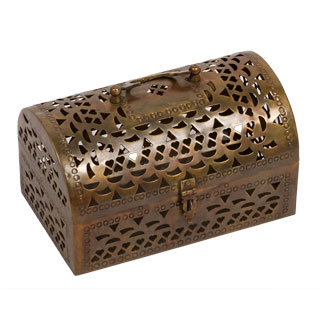 "4""h - 6""h Bronze Chest Set"