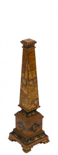 """27""""h Wooden Obelisk ACC007774"""