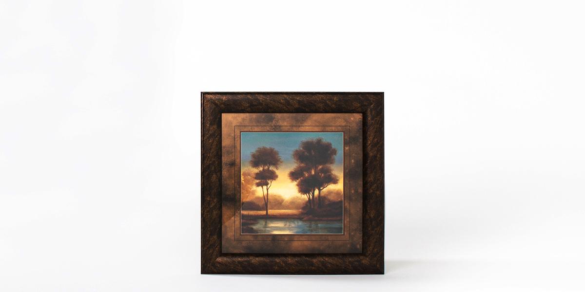 "34.25""w x 34.25""h Landscape Art ART011364"