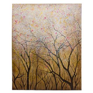 "40""w x 50""h Floral Art ART012751"